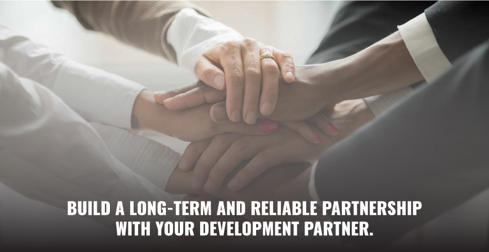 long-term and reliable partnership