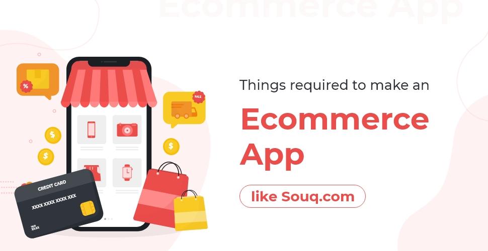 make an eCommerce app like Souq.com
